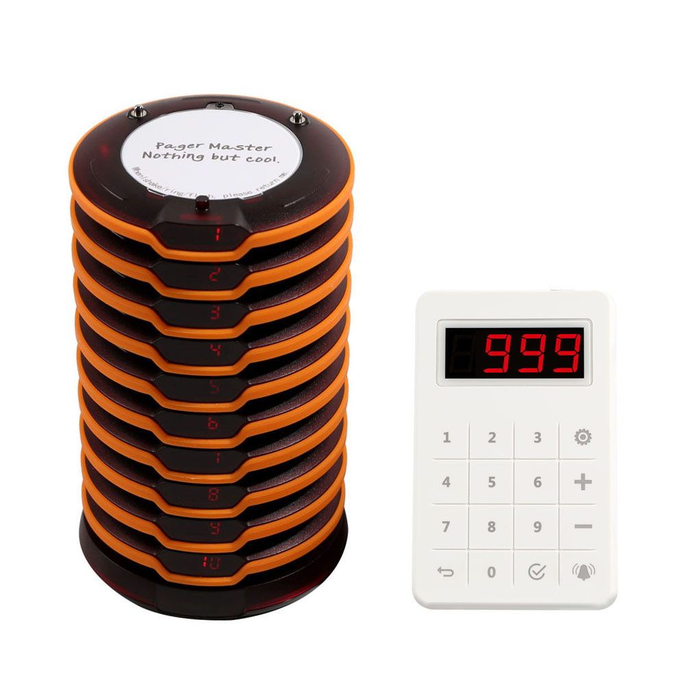 Coaster pager call system restaurant pager wireless calling system for restaurant