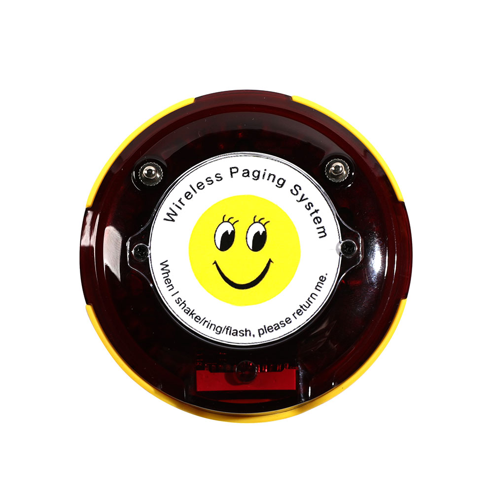 Coaster pager restaurant pager wireless pager system calling system